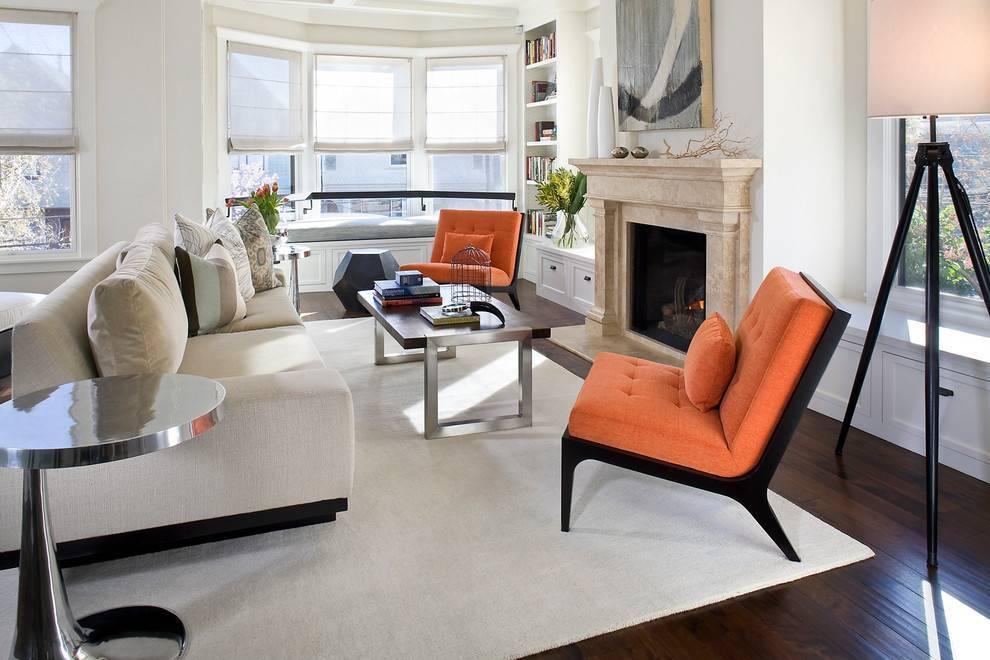 Нюансы выбора кресел в гостиную, популярные стилевые решения