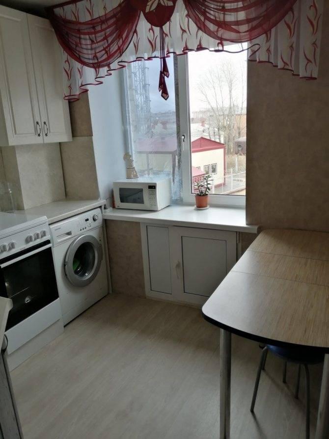 Ремонт кухни в хрущевке: 10 правил дизайна и 121 реальное фото