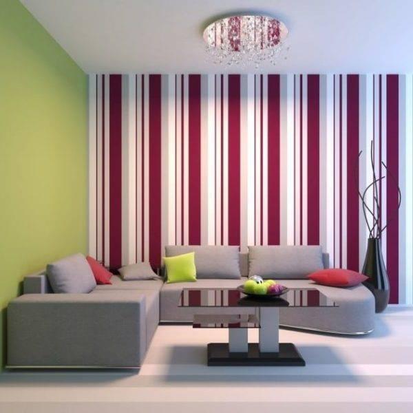 Как с помощью обоев преобразить зал - выбираем дизайн