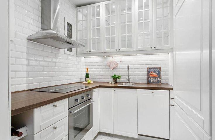 Плитка кабанчик на фартук кухни: реальные фото интерьеры