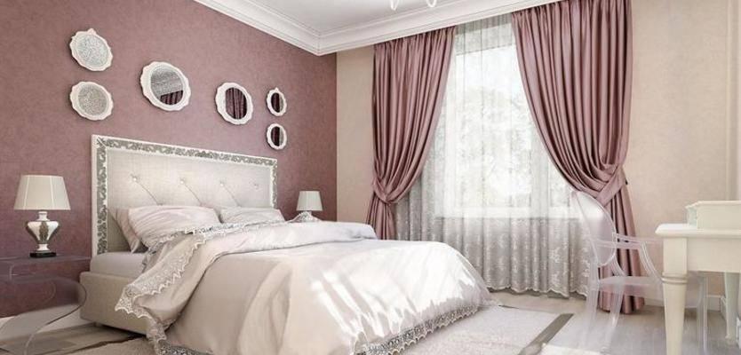 Спальня в серых тонах: 75 фото-идей дизайна интерьера, подбор мебели и штор