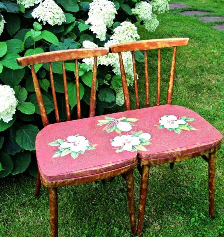 Декор пластикового стула своими руками (мастер класс + фото) | своими руками – как сделать самому