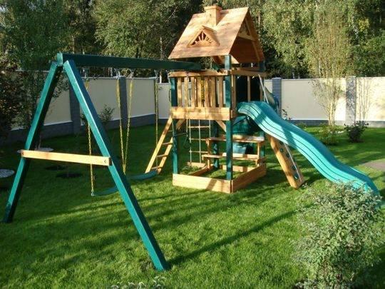 Площадка для детей своими руками: от проекта до реализации