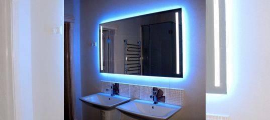 Зеркало в ванную комнату - 100 фото идей