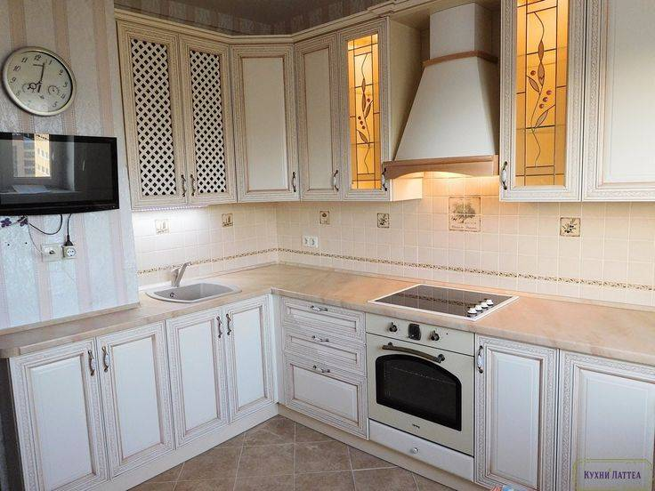 Дизайн и ремонт кухни однокомнатной квартиры дома серии п-44.