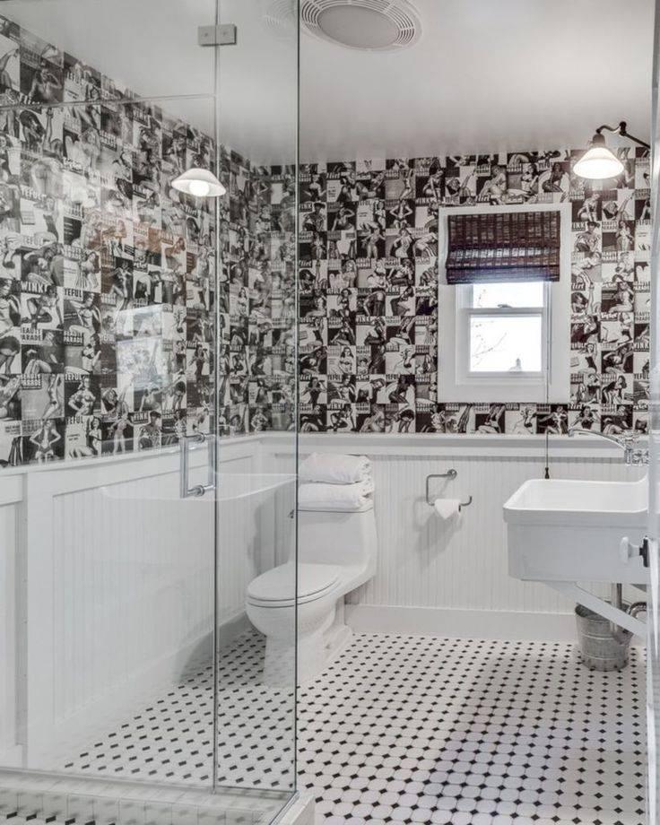 Мозаика в дизайне ванной комнаты (35 фото)