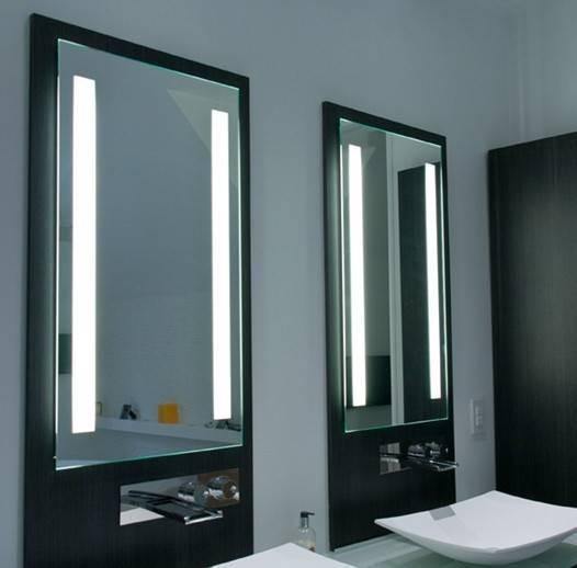 Как выбрать зеркало в ванную комнату?
