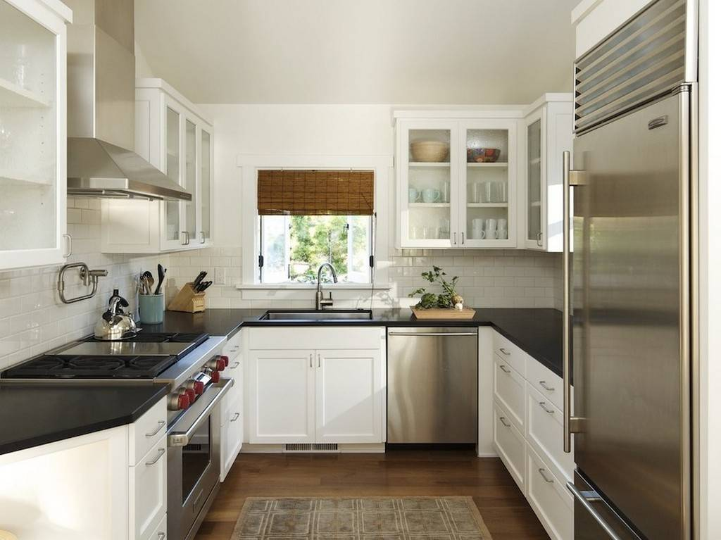 П-образные кухни: планировка, размеры и дизайн