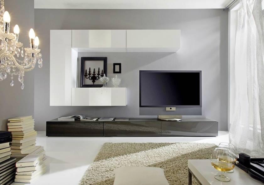 Телевизор в гостиной — как оформить правильно? 80 фото наглядных примеров