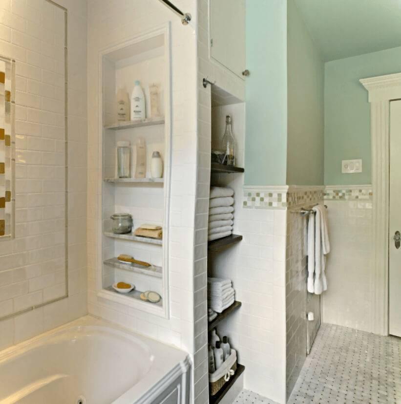 Как встроенная мебель для ванной сделает помещение более комфортным и практичным?