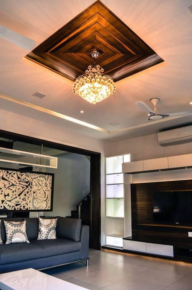 Потолки из гипсокартона для гостиной двухуровневые: преимущества, дизайн, монтаж