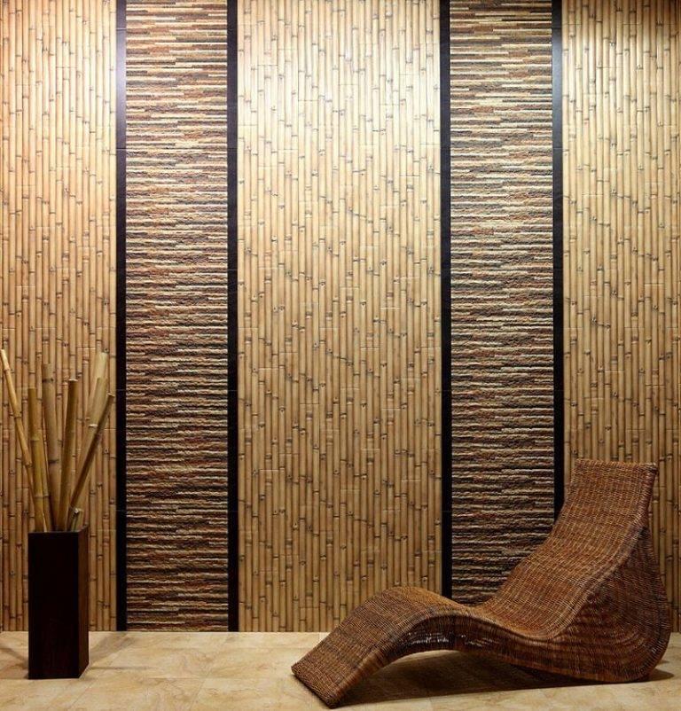 Бамбук в интерьере – 115 фото идей использования экзотичного и стильного материала