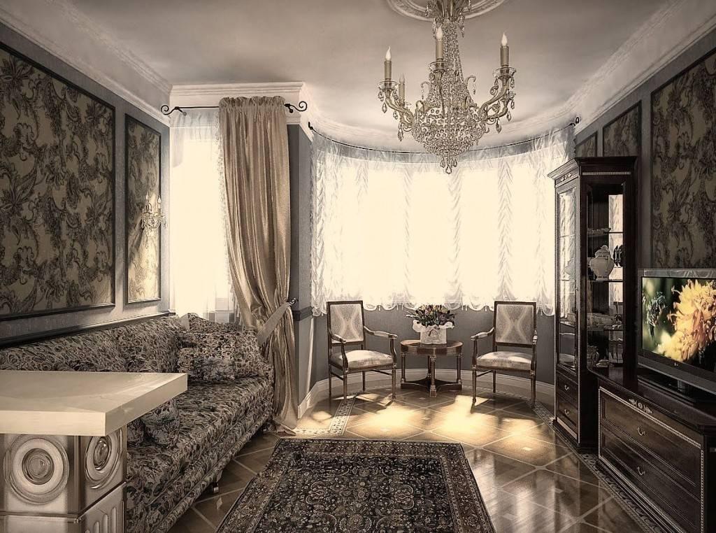 Дизайн квартиры в классическом стиле — 25 фото интерьера