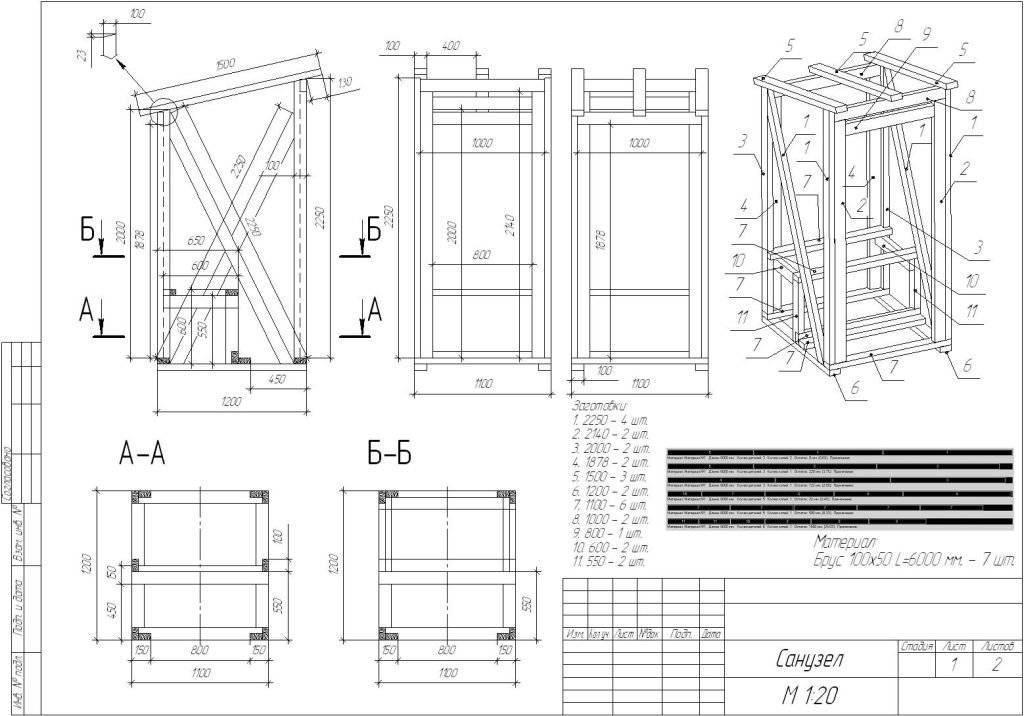 Дачный туалет: устройство, пошаговая инструкция   фото
