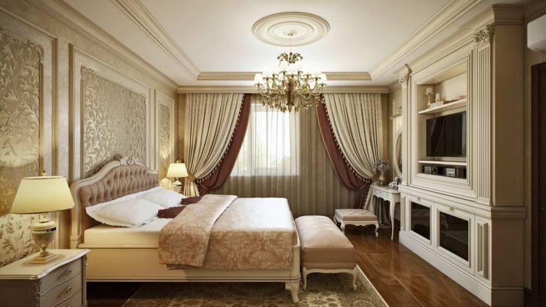 Дизайн квартиры 35, 64 кв в стиле современная классика – фото