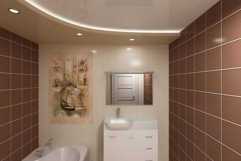 Потолок в ванной комнате, какой лучше выбрать?