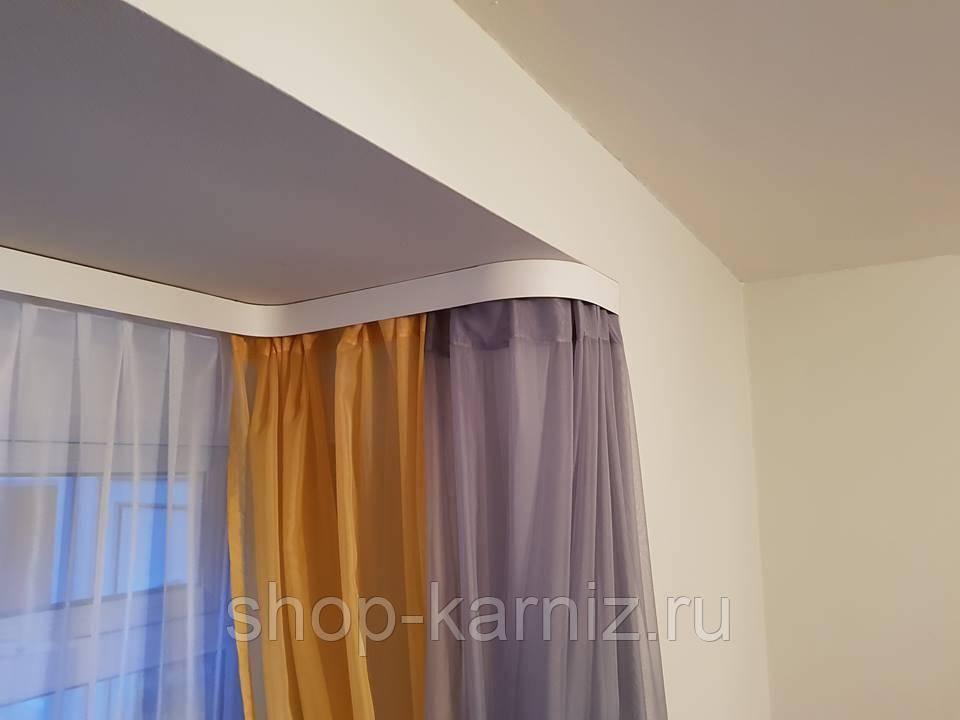 Скрытый карниз: направляющие для штор на потолок, потолочный встроенный потолок, как спрятать карниз, ниша