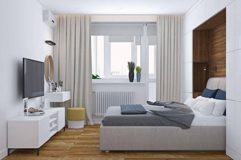 Квадратная спальня: обзор оригинальных идей по оформлению дизайна спальни квадратной формы (100 фото новинок)