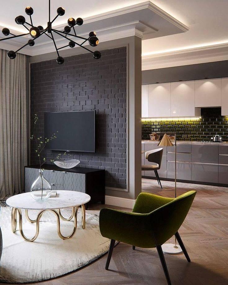 Дизайн кухни-гостиной 20 кв. м. [50 фото] идеи планировки