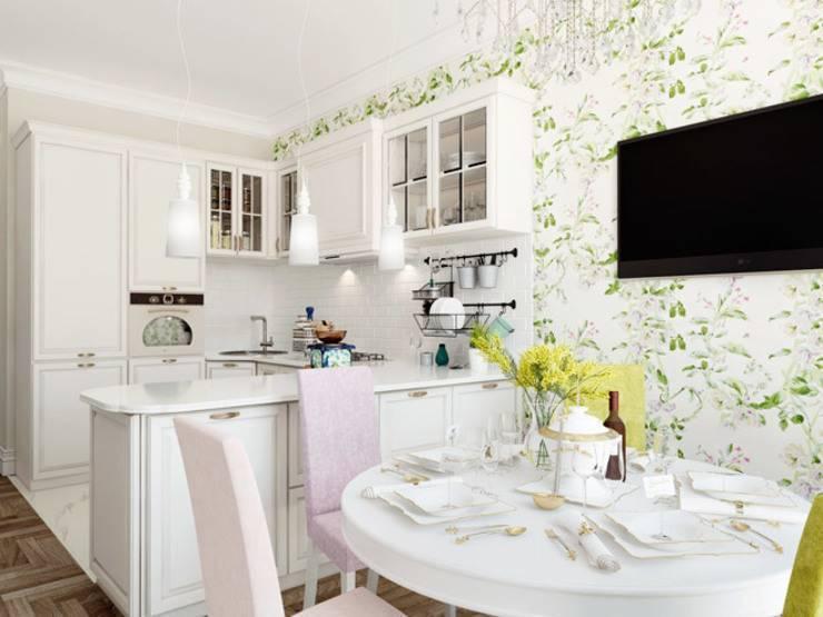 Белый кухонный стол (78 фото): практичен ли стол глянец для кухни, дизайн в интерьере