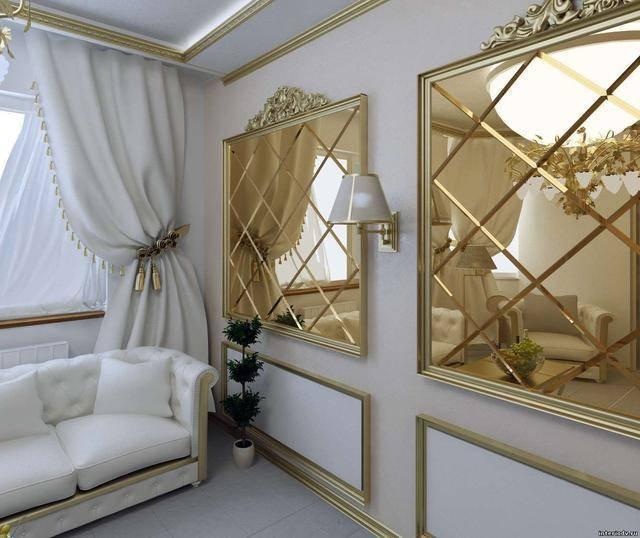 Зеркальный потолок в интерьере: 120+ (фото) лучших идей дизайна