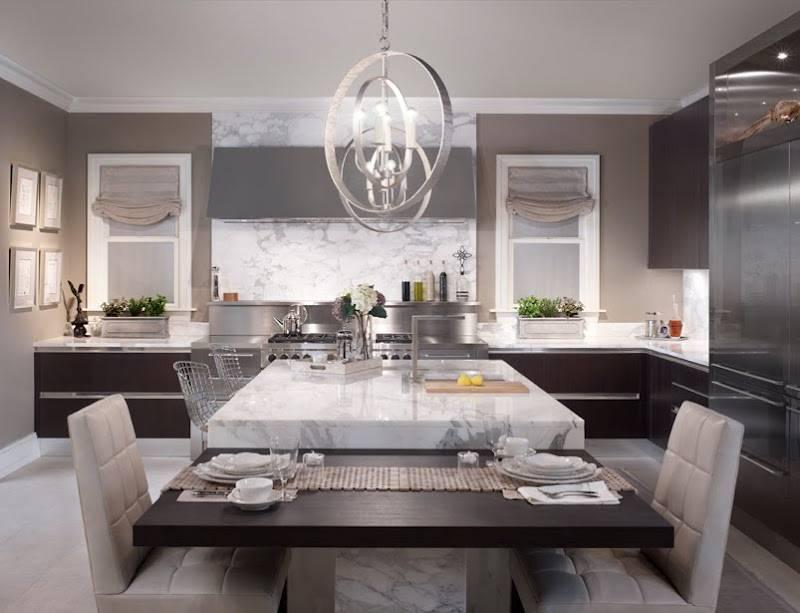 Дизайн кухни серого цвета: 60+ реальных фото