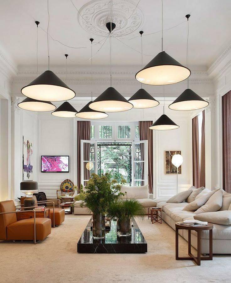 Как организовать освещение в гостиной? современные решения.
