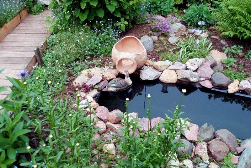 Как сделать водоем на участке своими руками – пошаговая инструкция