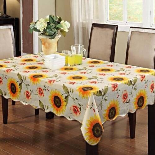 Скатерти для стола- правильный выбор формы и материала