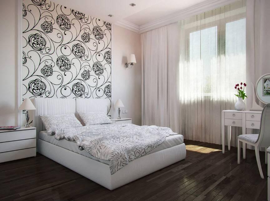 Какие обои выбрать для спальни в 2020-2021 году: идеи с фото