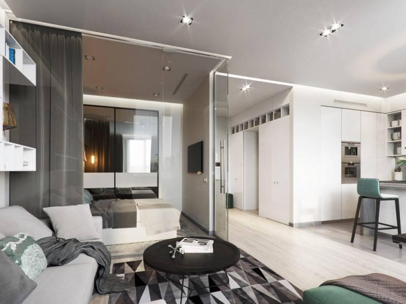 Дизайн квартир 40 кв. м. лучшие идеи, фото и советы по увеличению пространства