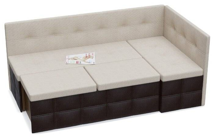 Угловые диваны со спальным местом на кухню: разновидности и советы по выбору