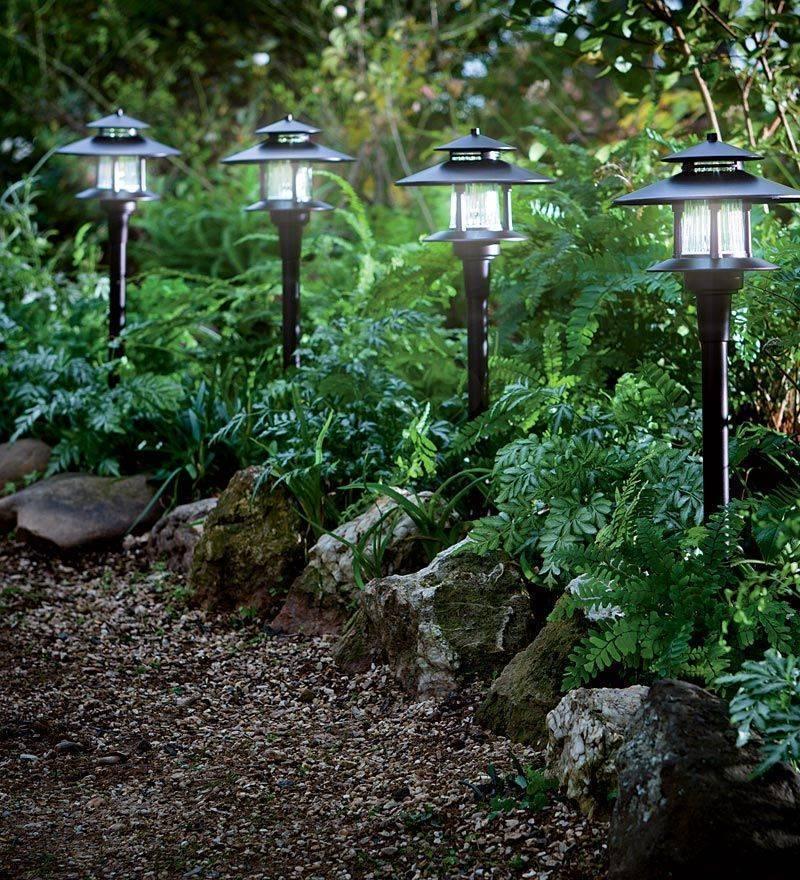 О фонарях и светильниках для сада — освещение на солнечных батареях