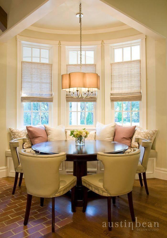 Эркеры в гостиной и на кухне: типы и особенности оформления интерьеров с эркерными окнами