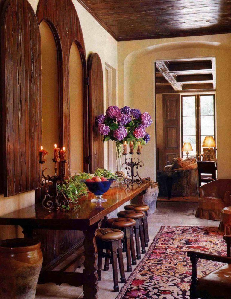 Средиземноморский стиль в интерьере кухни и гостиной: итальянский, греческий и испанский дизайн