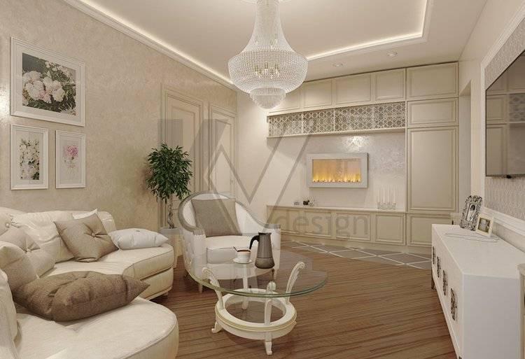 Дизайн трехкомнатной квартиры п44т: большое пространство для экспериментов