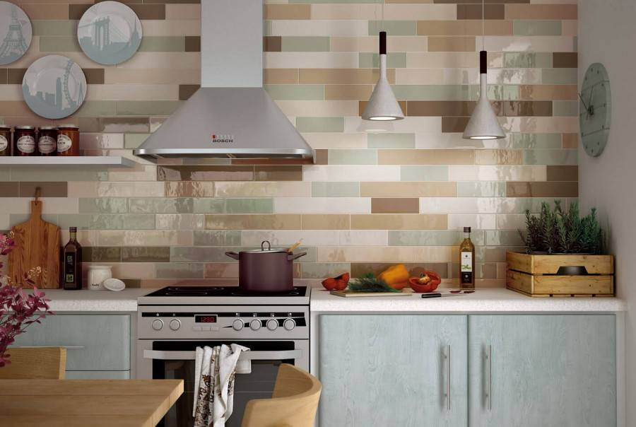 Какой фартук лучше выбрать для белой кухни: 30 вариантов, 50 фото