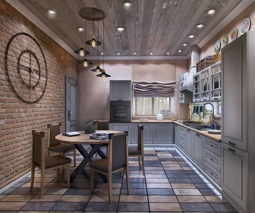 Интерьер кухни в стиле лофт — дёшево и просто или стильно и дорого?