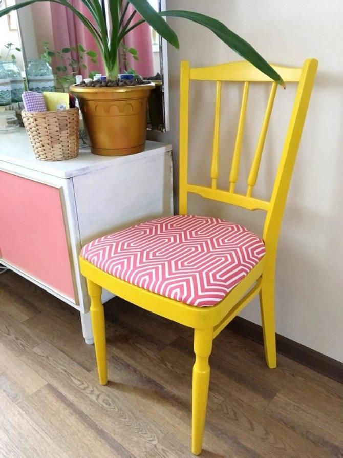 Реставрация старых стульев своими руками: разборка, обивка, сиденье, сборка, покраска, декор, декупаж, фото
