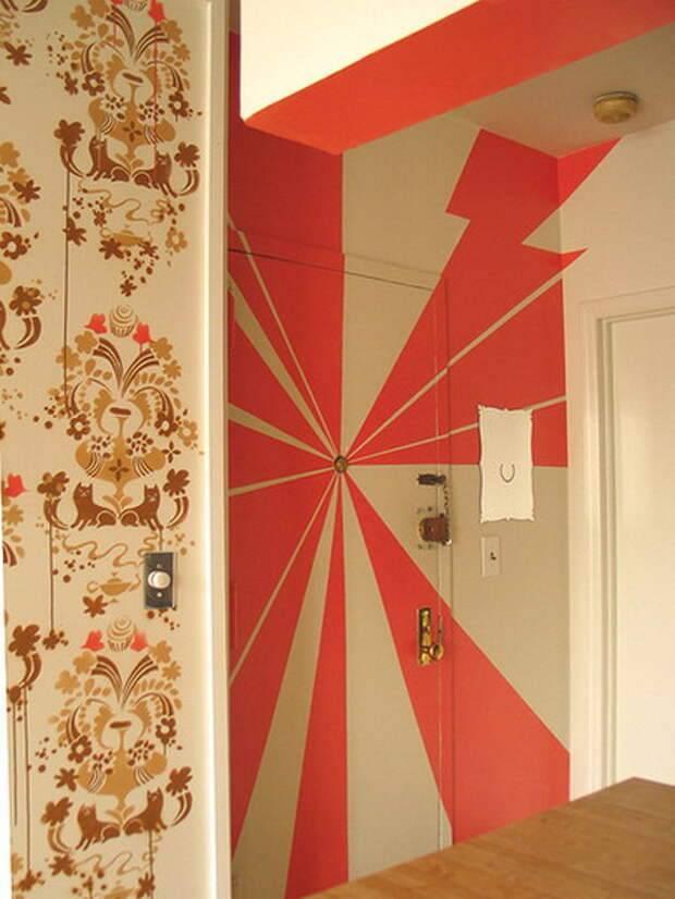 Декор на двери своими руками – как правильно сделать – свой дом мечты