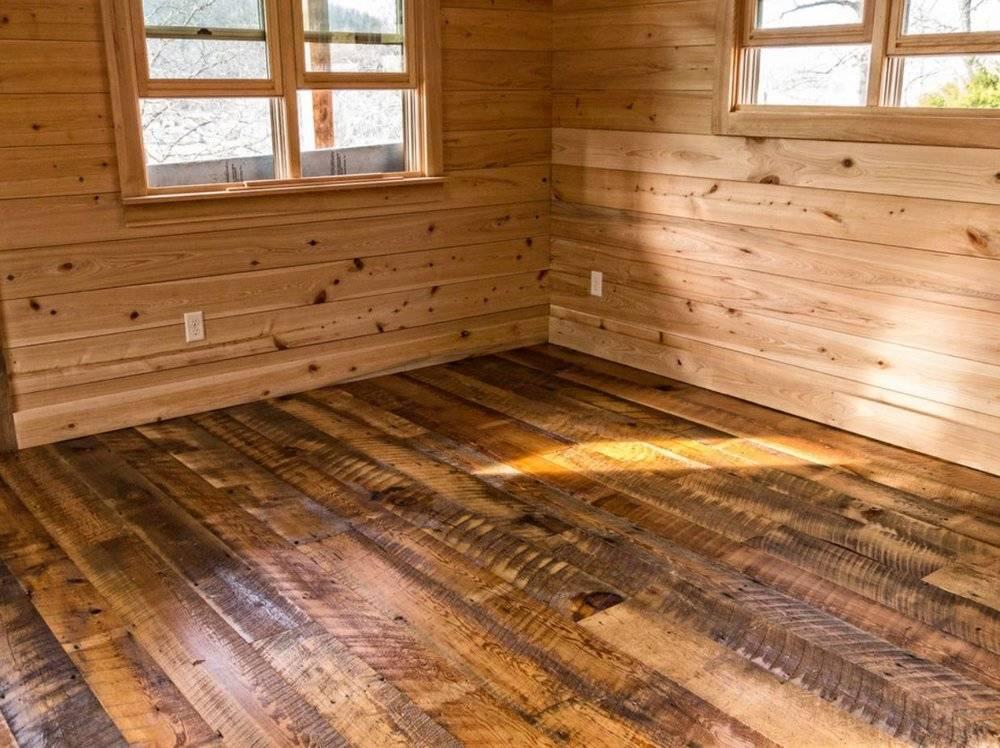 Как грамотно сделать пол в ванной комнате деревянного дома