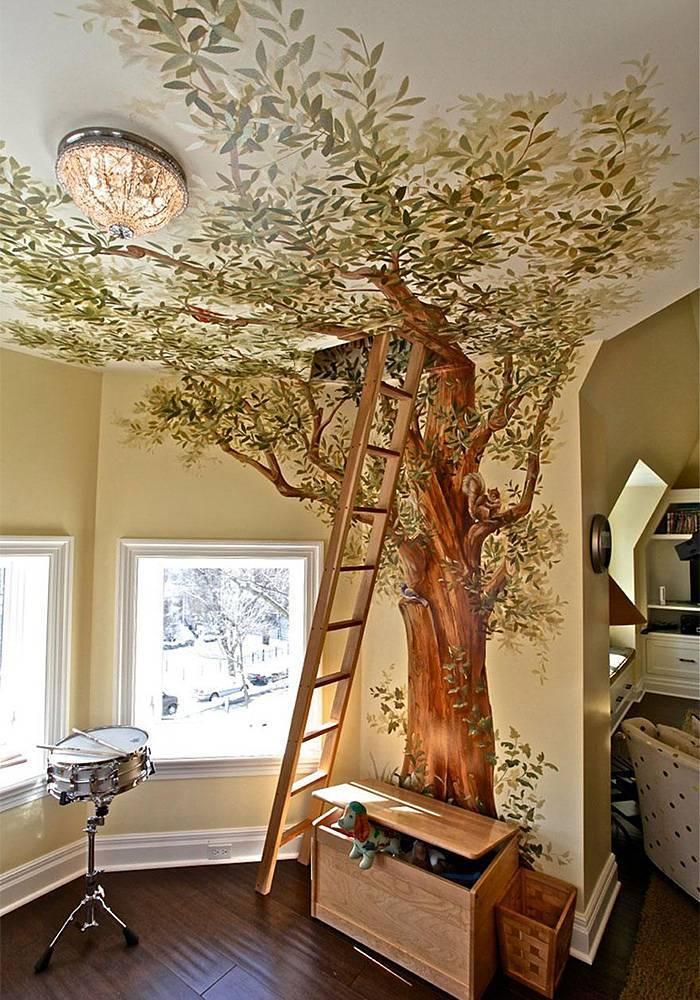 Деревянный декор — идеи по применению, выбор стиля и особенности ухода за декором из дерева (75 фото)