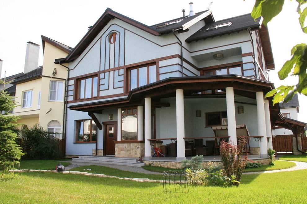 Отделка дома (142 фото): варианты наружного оформления каркасного строения, материалы для обшивки снаружи дома и окон, оригинальные примеры и идеи