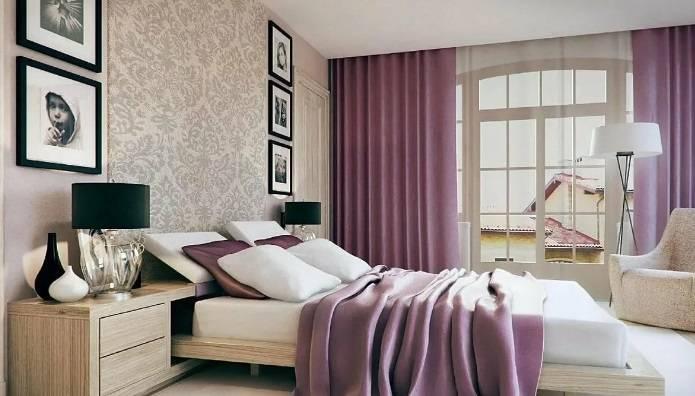Советы по комбинированию обоев в дизайне спальной комнаты