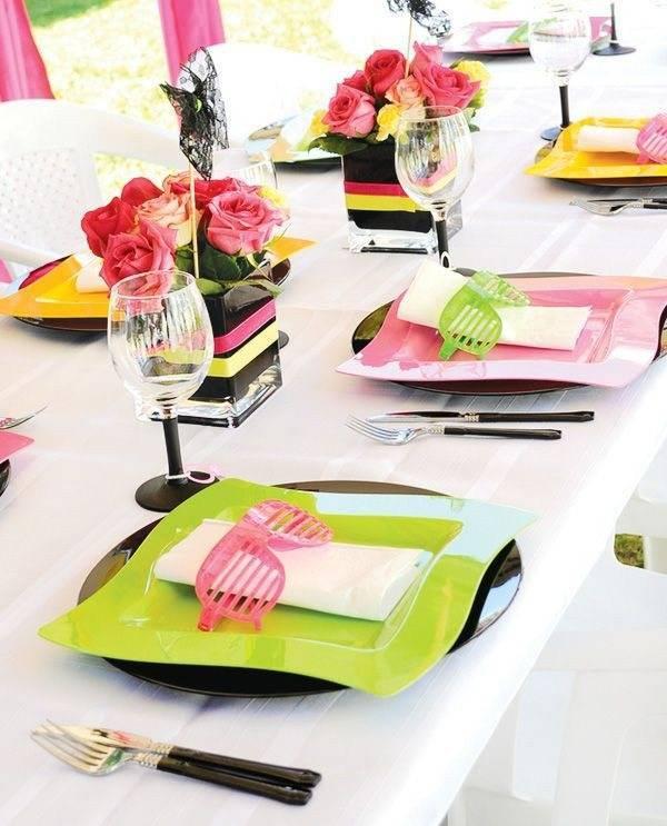 Как украсить стол на день рождения? детские столы на день рождения (фото)