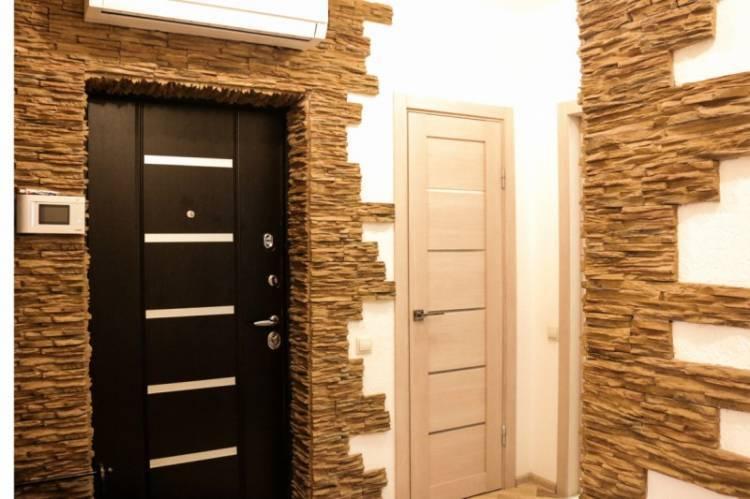 Как своими руками отделать дверной проем декоративным камнем и плиткой?