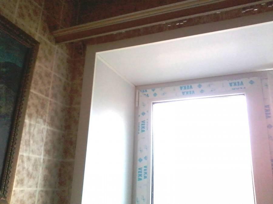 Чем замазать откосы на окнах внутри