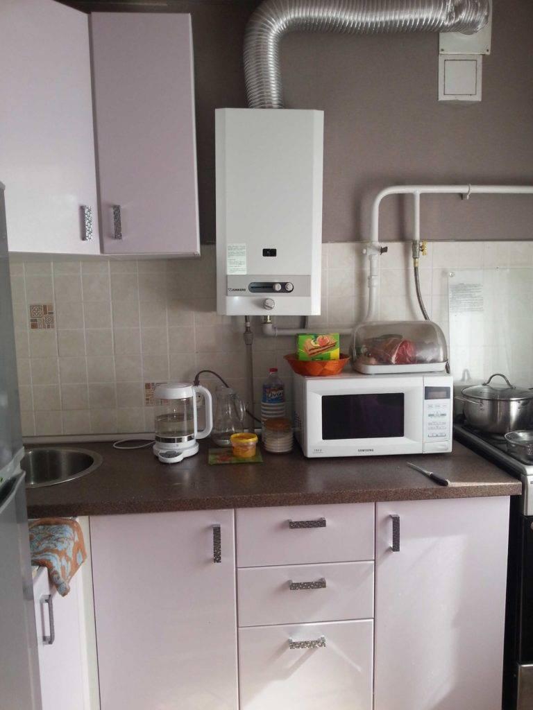 Дизайн и ремонт кухни с газовой колонкой