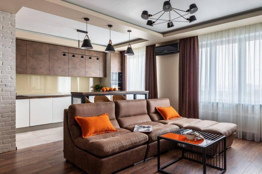 Как создать стильный дизайн гостиной в хрущевке?