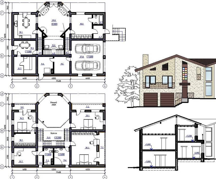 Чертежи дома: от наброска и эскиза до готового проекта – советы по ремонту